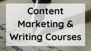 Content writing and marketing course