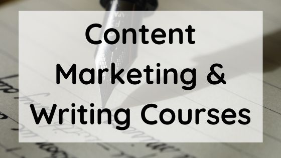 Free Content Marketing & Writing Courses Online