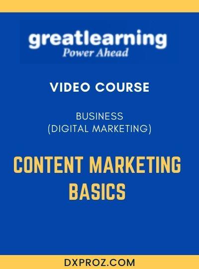 Introduction to Digital Marketing 2 Content Marketing Basics