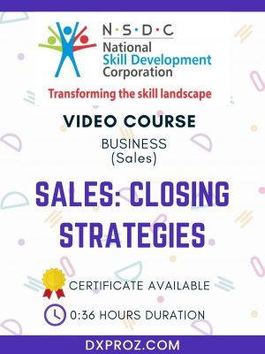 Sales: Closing Strategies
