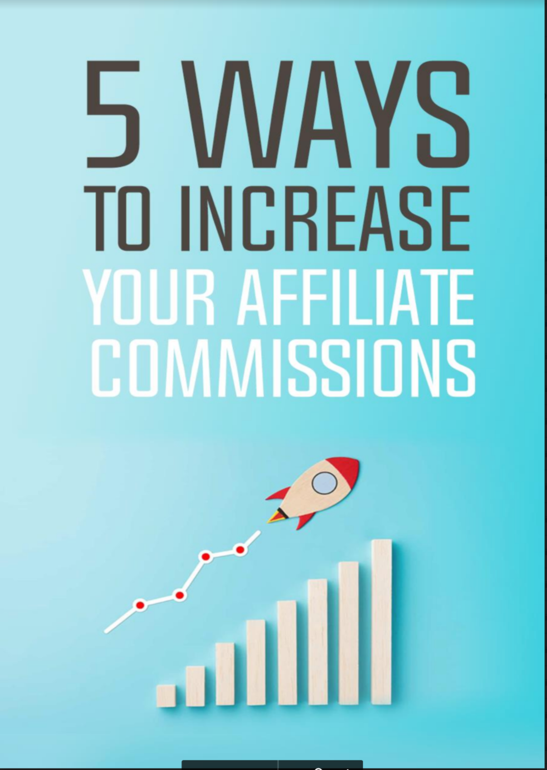 5 ways to increase your affiliate commisions
